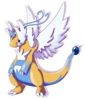 mega dragonite by shinyscyther