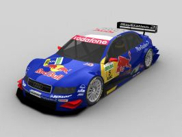 Audi DTM Red Bull by kurtdhis