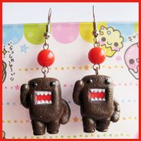 Domo Kun Earrings by cherryboop