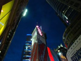 Times Square - 42nd Street -2 by wingsofdragons