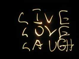Live Love Laugh by Strayblackcat