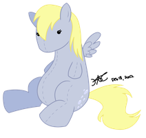 Derpy Plushie by kavic