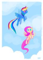 Flying Ponies by cmaggot