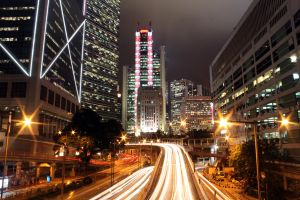Central at Night - II by johnchan