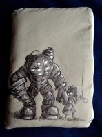 Bioshock Kindle Fire Case by Jelayer