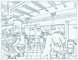2000: Bart and Jessica by simpspin