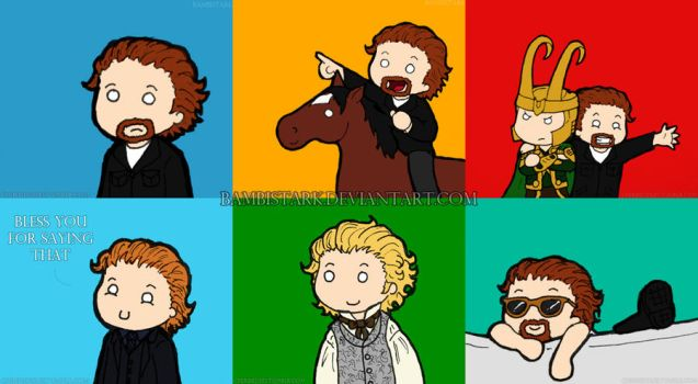 Chibi Hiddles Dump 01 by bambistark