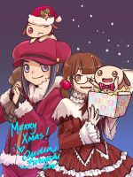 Merry Christmas 2011 by nemu-nemu