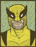 Old School Wolverine by Hartter