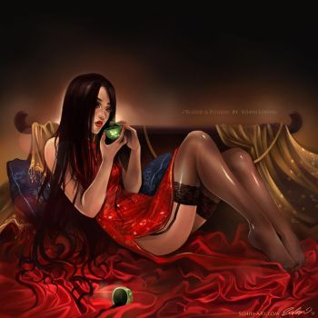 Blood and Poison by luciole