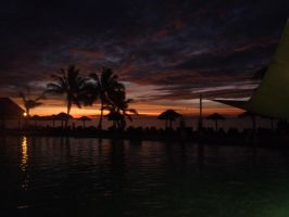 Tropical Sunset by Jimma1300