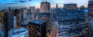 Midtown Facing Downtown by sp1te