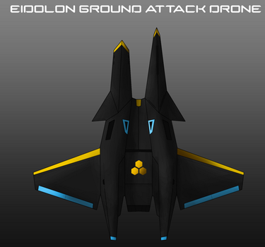 Triarch Industries Eidolon Ground Attack Drone by EmperorMyric