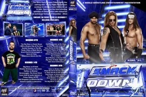 WWE SmackDown Decembeer 2012 DVD Cover by Chirantha