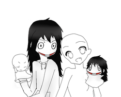Jeff the Killer x OC Base 01 by RumiaDevil