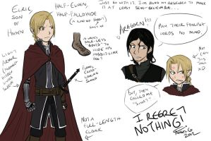 FMA/LOTR - If Ed existed in the LOTR universe... by HitanTenshi