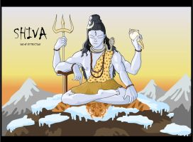 Lord Shiva by codenamezapper