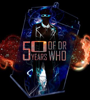 50 years of Doctor Who by starcaster