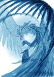 Water or ice dragon by Wings-of-the-Heavens