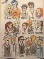 Harry Potter - Next Generation by SquigglyButterfly