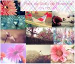 pack walls de Florecitas by DlyKt