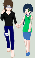 Yumiko  And Tadashi by Tortured-Hearts