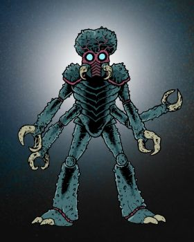 Mutant of Metaluna from This Island Earth by Eyemelt