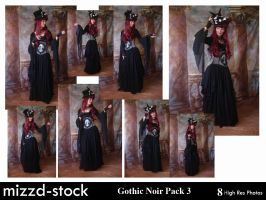 Gothic Noir Pack 3 by mizzd-stock