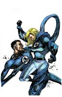 Sue and Reed Richards Colors by prizzy726