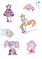 Many faces of Luxa by Luxianne