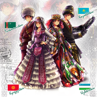 APH: Turkic countries from Central Asia by Kay-I