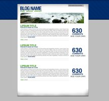 Wordpress theme Crisp by Kip0130