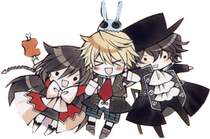 render pandora hearts by hikary69