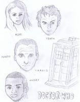 Doctor Who by SpideyzGirl