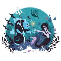 The Little Mermaid by Nemons