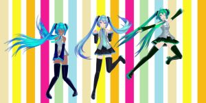 Tda Miku normal (regular outfit) DOWNLOAD by YamiSweet