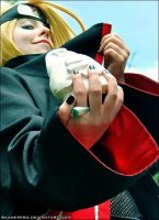 C3: Deidara cosplay by AkaneHiro