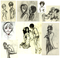 Homestuck specific sketchdump by Blahblahblah-123456