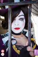 Mad Moxxi: Pyro Pete's Hostage by Enasni-V