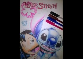 Lilo and Stitch by chloemeehan1