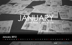 freebie: Desktop Wallpaper January by yahya12
