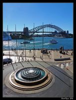 Sydney Harbour View by DarthIndy