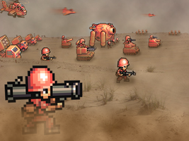 "Retro War ""Advance Wars"" by RETROnoob"