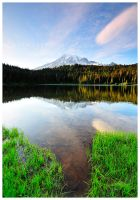 Rainier Reflection by Raymaker