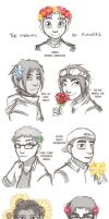 The meaning of flowers by Darqx