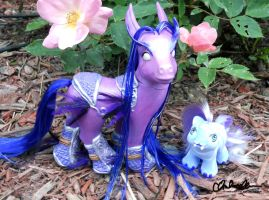 World of Warcraft Custom Ponies by thatg33kgirl