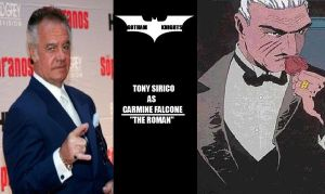 Gotham Knights T.V. Series Fan Cast - Falcone V.1 by RobertTheComicWriter