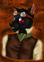 BHO - Halloween Bust Commish by kcravenyote