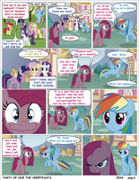 Mlp Party Of One Pag 6 creepypasta (english) by j5a4