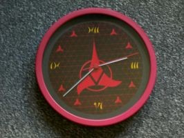 Another Klingon Wall Clock by CmdrKerner